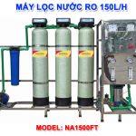 Máy lọc nước RO 150 lít/h cho nước nhiễm sắt NA1500FT van tự động