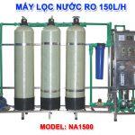 Máy lọc nước RO 150 lít/h cho nước nhiễm vôi NA1500 van cơ