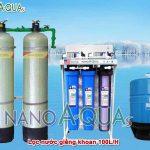 Máy lọc nước RO 100 lít/h cho nước nhiễm vôi NA2K1005