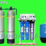 Máy lọc nước giếng khoan RO 50 lít/h NA2K508