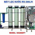 Máy lọc nước RO 200 lít/h cho nước giếng khoan NA2000FT van tự động