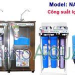 Máy lọc nước RO 30 lít/h tạo khoáng NanoAquas NA306T có vỏ tủ Inox