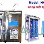 Máy lọc nước RO 50 lít/h tạo khoáng NanoAquas NA505T có vỏ tủ Inox
