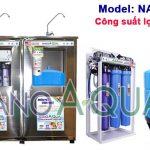 Máy lọc RO 65 lít/h tạo khoáng NanoAquas NA656 có vỏ tủ Inox