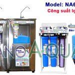 Máy lọc nước RO 65 lít/h NanoAquas NA655T có vỏ tủ Inox