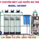 Máy lọc nước RO 700 lít/h cho nước nhiễm vôi NA7000T van tự động