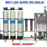 Máy lọc nước RO 250 lít/h cho nước giếng khoan NA2500F van tự động