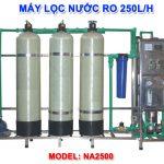Máy lọc nước RO 250 lít/h cho nước nhiễm vôi NA2500 van cơ