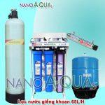 Máy lọc RO 65 lít/h dành cho nước giếng khoan NAK658UV