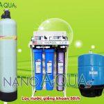 Máy lọc nước giếng khoan RO 50 lít/h NAK507