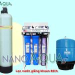 Máy lọc nước giếng khoan RO 65 lít/h NAK657