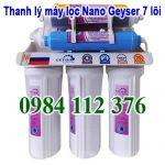 Thanh lý máy lọc Nano Geyser 7 lõi