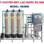 Máy lọc nước RO 500 lít/h cho nước nhiễm vôi NA5000 van cơ