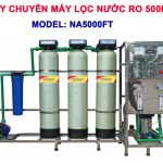 Máy lọc nước RO 500 lít/h cho nước giếng khoan NA5000F van tự động