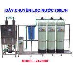 Máy lọc nước RO 700 lít/h cho nước giếng khoan NA7000F van cơ