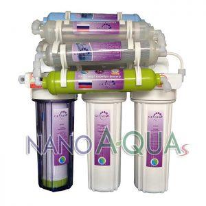 Máy lọc nước Geyser TK9, công nghệ lọc nước Nano không dùng điện