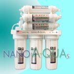 Máy lọc nước NanoAquas NE8, không điện không thải