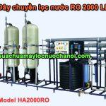 Dây chuyền lọc nước RO 2000 Lít Model HA2000RO