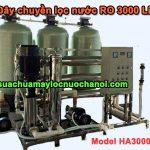 Dây chuyền lọc nước RO 3000 Lít Model HA3000RO
