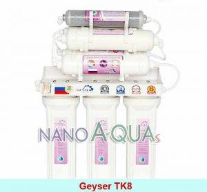 Máy lọc nước Geyser TK8, công nghệ lọc nước Nano không dùng điện