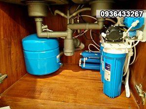 Máy lọc Karofi 8 lõi KT80UV diệt khuẩn, lắp gầm chậu rửa