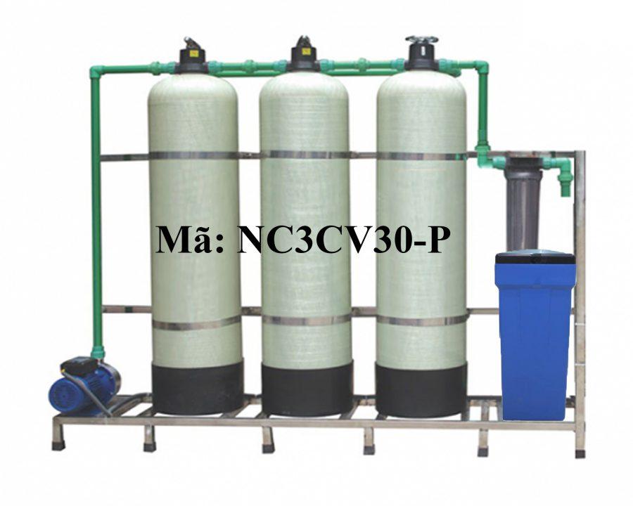 Lọc nước 3 cột composite 3000 lít/h