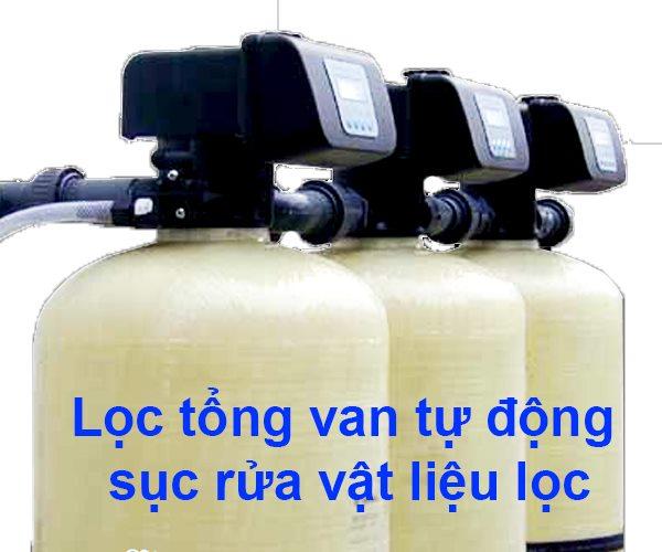 Lọc nước tổng 3 cột composite 3000 lít/giờ