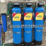 Lọc nước 3 cột composite 2000 lít/giờ