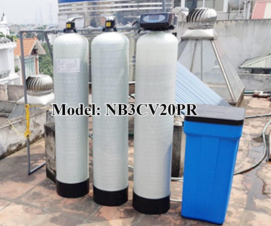 Lọc nước 3 cột composite 2000 lít/h
