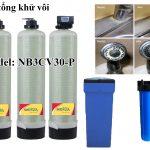Lọc nước tổng 3 cột composite 3000 lít/h