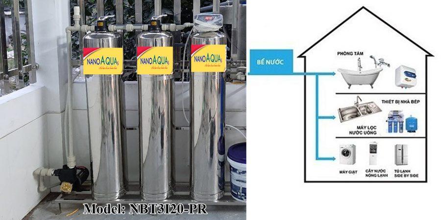 Lọc nước sinh hoạt 2000 lít/giờ