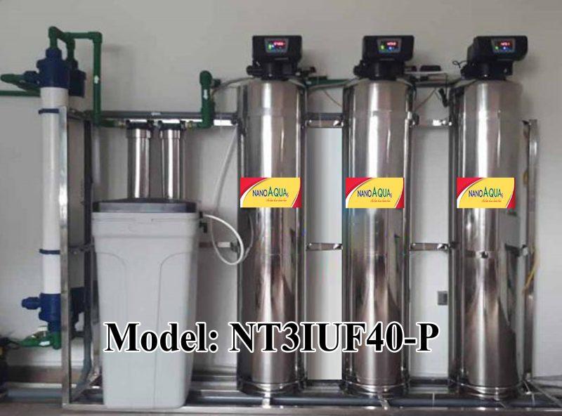 Lọc nước tổng 3 cột inox 4000 lít/giờ