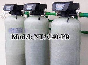 Lọc nước tổng 3 cột composite 4000 lít/giờ
