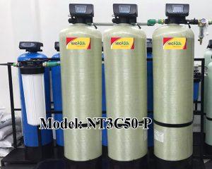 Lọc nước tổng 3 cột composite 5000 lít/h